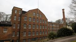 Quarry Bank Mill, which has connections to the Peterloo Massacre is part of the 'people's landscapes' programme (Peter Byrne/PA)