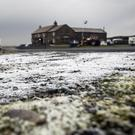 A yellow warning of ice and up to 3cm of snow along the east coast of England is in place (Danny Lawson/PA)