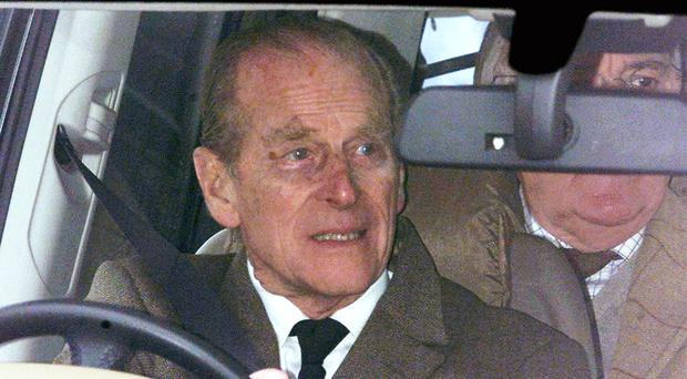 The Duke of Edinburgh has been left shocked but unhurt after a car accident (Haydn West/PA)