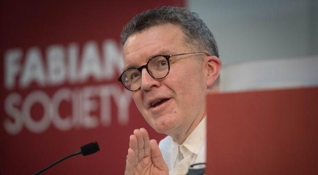 Labour deputy leader Tom Watson spoke at the Fabian Society new year conference (Stefan Rousseau/PA)