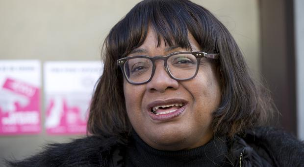 Shadow home secretary Diane Abbott has complained about her treatment on Question Time (Isabel Infantes/PA)