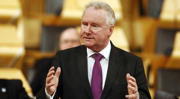 Alex Neil MSP said the health bnoard needs to 'need to clarify the situation' (Andrew Cowan/Scottish Parliament)