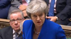 Prime Minister Theresa May will unveil her Plan B in the Commons (House of Commons)