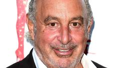 Topshop boss Sir Philip Green was named in Parliament by Lord Hain (Ian West/PA)