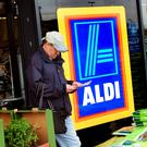 Aldi has increased hourly pay rates for its store workers (Rui Vieira/PA)