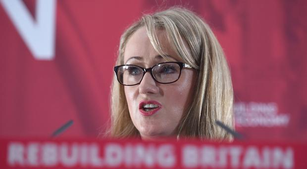 Shadow business secretary Rebecca Long Bailey (Kirsty O'Connor/PA)
