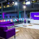 Set for the BBC Scotland news show The Nine (Alan Peebles/BBC/PA)