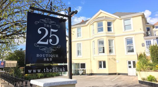 The 25 Boutique BandB has been named the world's best (TripAdvisor/PA)