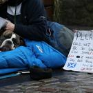 Unions have called for a law to be introduced to halt forced evictions during winter (Andrew Milligan/PA)