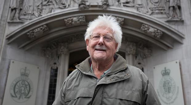 John Catt has won his case after a previous ruling against him a the Supreme Court in London (Philip Toscano/PA)