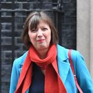 The TUC's Frances O'Grady leaves 10 Downing Street following talks with the Government over Brexit (Stefan Rousseau/PA)