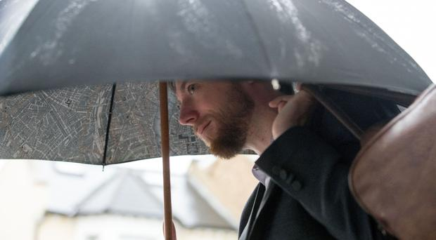 Jack Shepherd, who was found guilty of killing his date, Charlotte Brown (Steve Parsons/PA)