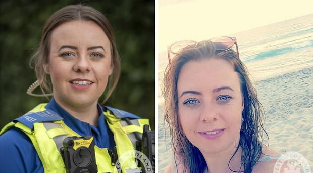 Undated West Midlands Police handout photos of Police Community Support Officer Holly Burke, 28, who died in a crash after a car being followed by police failed to stop during a 15-minute chase.