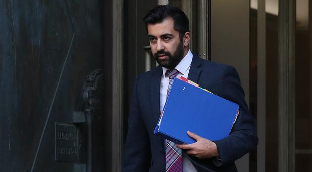 Justice Secretary Humza Yousaf MSP warned of the impact Brexit could have on European security arrangements (Andrew Milligan/PA)