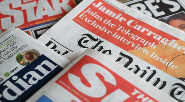 What the papers say – February 12 (PA)