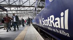 Targets were lowered for ScotRail between 2016 and 2018 (Danny Lawson/PA)