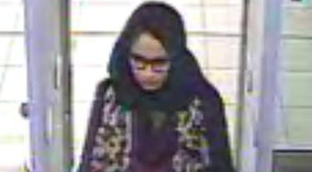 Shamima Begum is heavily pregnant and wants to come home (Metropolitan Police/PA)