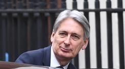 Chancellor of the Exchequer Philip Hammond (Stefan Rousseau/PA)