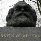 The grave of Karl Marx in Highgate Cemetery (Yui Mok/PA)