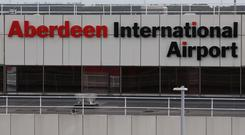 FlyBMI flights to and from Aberdeen Airport have been cancelled with immediate effect (Andrew Milligan/PA Wire)