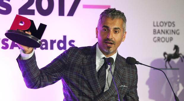 Broadcaster Maajid Nawaz said he was attacked in London in a racially aggravated attack (Jonathan Brady/PA)