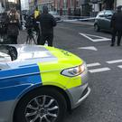 Police activity at the scene in Euston Street, Camden (Tom Horton/PA)