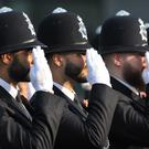 Met Police recruits (Nick Ansell/PA)