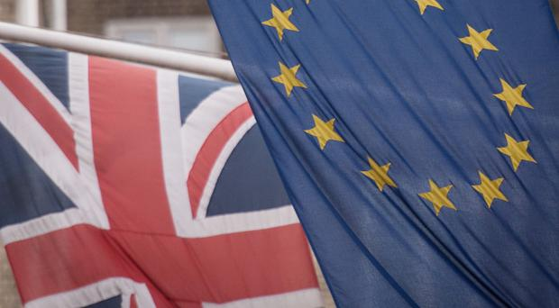 The number of EU nationals working in the UK has fallen (Stefan Rousseau/PA)