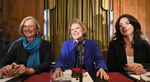 Conservative MPs (left to right) Sarah Wollaston, Anna Soubry and Heidi Allen, during a press conference at One Great George Street in London, following the announcement that they have resigned from the Conservative Party and joined the Independent Group of MPs. (Stefan Rousseau/PA)