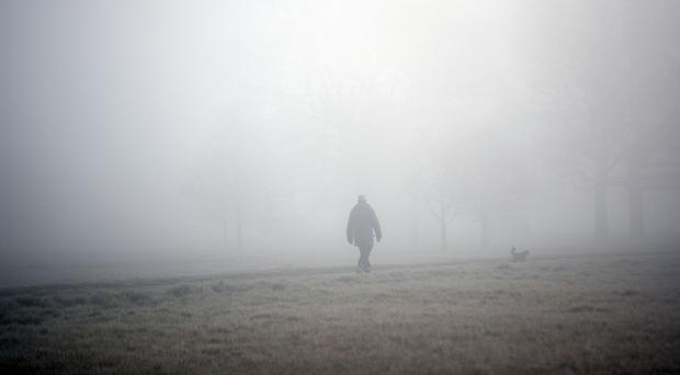 A foggy start is expected in parts of England (Steve Parsons/PA)