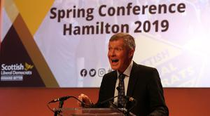 Brexit negotiations will cripple the UK for 'month after month, year after year' Willie Rennie warned. (Jane Barlow/PA)