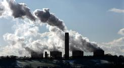 High levels of pollution possible in urban areas due to the high concentration of emissions (David Jones/PA)