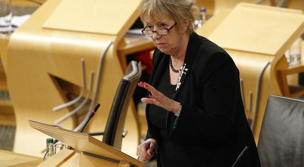 SNP MSP Christine Grahame called for action on 'idiotic' and 'wasteful' packaging (Scottish Parliament/PA)
