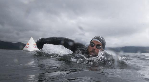 Ross Edgley was the first swimmer to circumnavigate Great Britain (JSHPIX.CO//Red Bull Media House/PA)