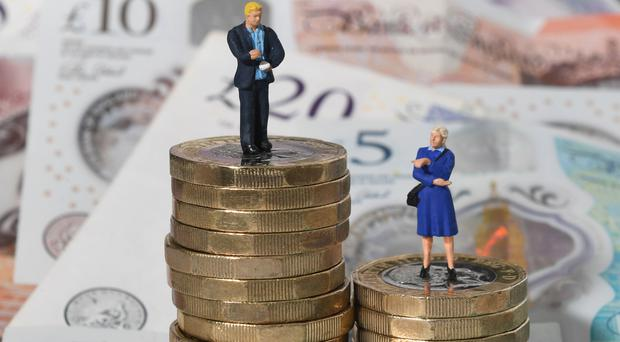 The gender pay gap is the difference between the median average hourly wage of men and women working in the same organisation (PA)