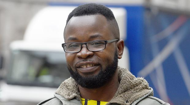 Felix Ngole s challenging a ruling that he was lawfully removed from a Sheffield social work course after being accused of posting derogatory comments about homosexuals and bisexuals on a Facebook page (Kirsty O'Connor/PA)