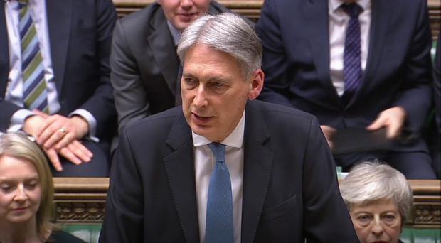 Philip Hammond (House of Commons/PA)