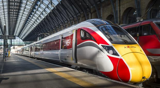Azuma trains will be launched in May (LNER/PA)
