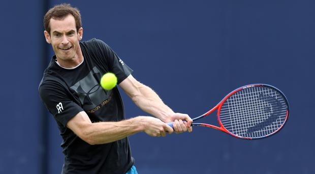Andy Murray has inspired a generation of young tennis players (Steven Paston/PA)
