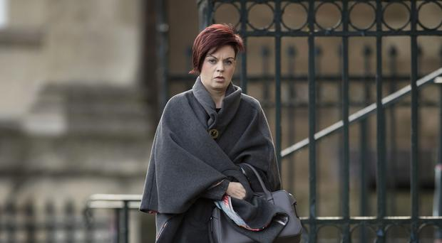 Patricia Robertshaw said she was having radiotherapy in order to earn three months' sick pay (Danny Lawson/PA)