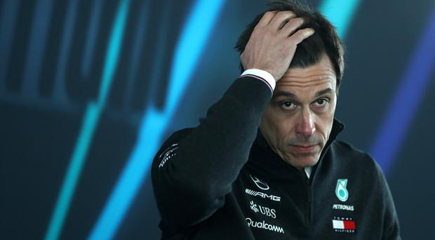Mercedes team principal Toto Wolff has spoken about Brexit (Tim Goode/PA)
