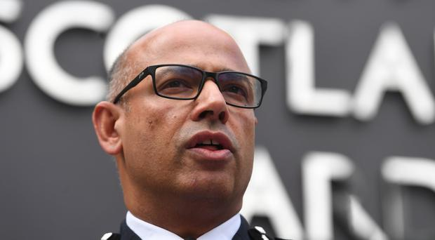 Assistant Commissioner Neil Basu said police are stepping up 'reassurance patrols' around mosques following the attack in New Zealand (Victoria Jones/PA)