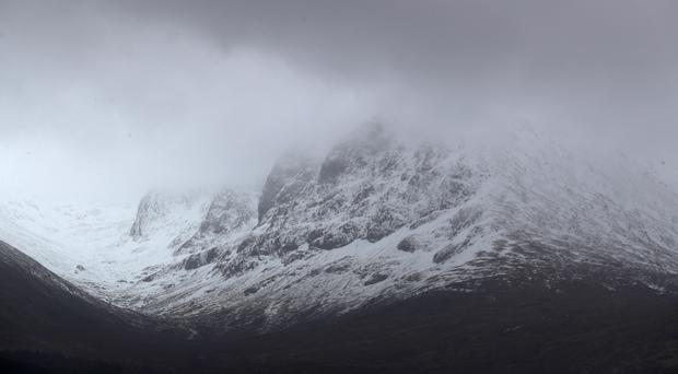 Three men died in an avalanche on Ben Nevis on Tuesday (Andrew Milligan/PA)