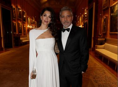 George Clooney jets to Ireland to see his cousins - and dine