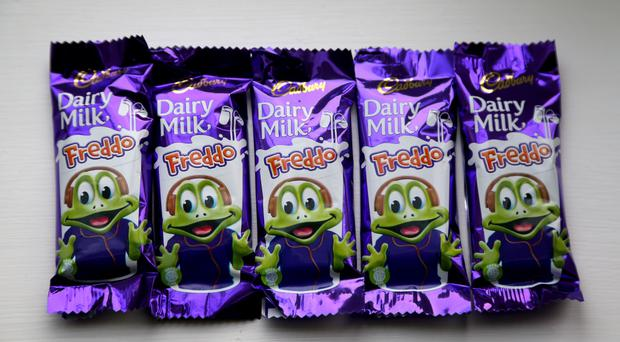 Cadbury has taken down its Freddo Treasures campaign website after claims it was encouraging children to break the law (Gareth Fuller/PA)