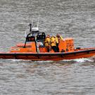 An RNLI lifeboat on the River Thames (NIck Ansell/PA)
