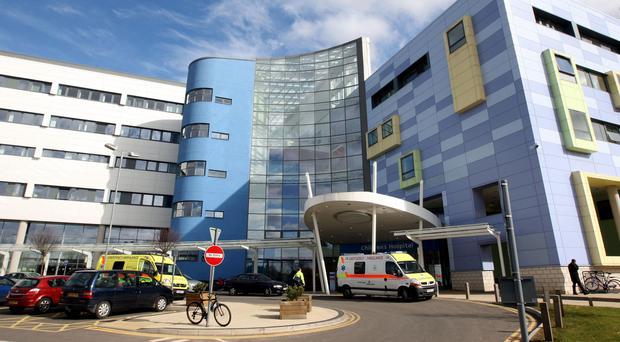 The baby was found at the John Radcliffe Hospital in Oxford (Steve Parsons/PA)