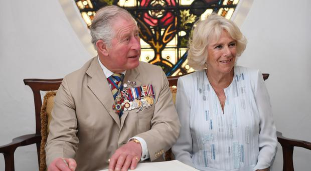 The Prince of Wales and the Duchess of Cornwall (Tim Rooke/PA)