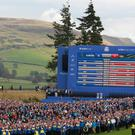 The Ryder Cup was held at Gleneagles in September 2014 (Andrew Milligan/PA)