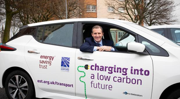 Transport Secretary Michael Matheson has announced more than half a million pounds to fund access to electric car clubs (Transport Scotland/PA)